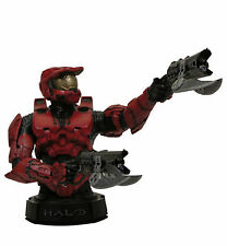 GENTLE GIANT HALO 3 RED ROTE SPARTAN MASTER CHIEF RESIN BÜSTE BUST STATUE FIGUR