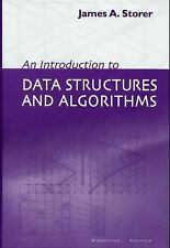 NEW An Introduction to Data Structures and Algorithms by James A. Storer Hardcov