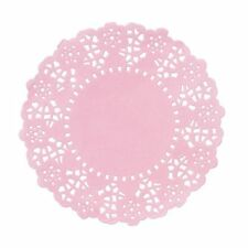 we heart pink mini doilys Doilies x 100 Afternoon Tea Vintage Style Saucer