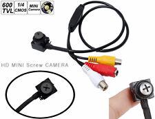 Mini videocamera spia,microcamera cimice vite perno bullone nera nero. Spy Cam