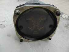 WW2 USAAF AMPS D C Indicator 1950's by THE HICKOX INSTRUMENTS ELECTRICAL.CO