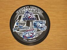 UHL EASTERN DIVISION HOCKEY PUCK Jackals Thrashers Frostbite Riverdogs InGlas Co