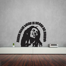 Bob Marley Quote – Every Little Thing Is Gonna Be Alright Vinyl Wall Art Deca...