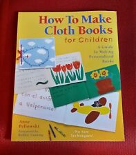 HOW TO MAKE CLOTH BOOKS FOR CHILDREN Guide School Church Gifts Sell - Make Money