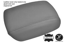 GREY ARMREST LID LEATHER COVER FITS KIA CARENS MK3 2006-2012