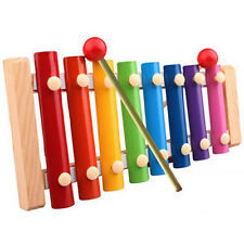 Baby Kid Musical Toys Xylophone Wisdom Development Wooden Instrument Toys USPS