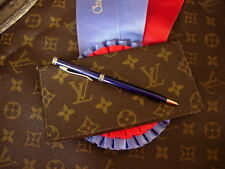 Vintage LOUIS VUITTON Saks Fifth Ave FC Checkbook Wallet Coin Purse Accessory LV