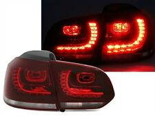 FEUX ARRIERE LED ROUGE BLANC CRISTAL R DESIGN VW GOLF 6 CARAT 4MOTION R R LINE