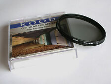 KOOD 77MM SUPER SLIM MOUNT CIRCULAR POLARISING FILTER C-PL PLC