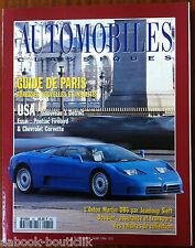 b)Automobiles Classique n°60; Essai Pontiac Firebird & Chevrolet Corvette/ DB 6