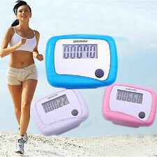 Best Useful Lcd Pedometer Step Walking Distance Counter Jogging Running