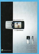 BELLEU004-PUBBLICITA'/ADVERTISING-2004- SONY ERICSSON T610 QUICKSHARE