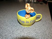 HALLMARK ORIGINAL DR SEUSS COLLECTION PUP IN CUP COFFEE CUP RARE GREAT SHAPE