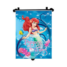 Genuine Little Mermaid Disney Princess Car Sun Shade Roller Window Blind Kids