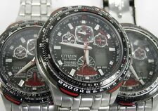Dealers lot of 3 Citizen Eco Drive Red Arrows wrist watches spares & repairs