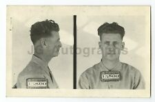 Early 20th Century Mug Shots - Harlan Gilson/Escaped Convict - 1948