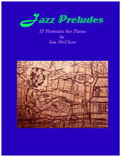 Jazz Prelude No.3 for Piano by Lee McClure / PDF Download or Hard Copy