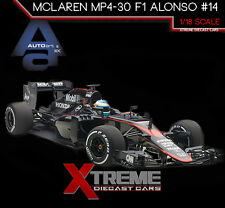 AUTOART 18121 1:18 MCLAREN MP4-30 F1 2015 BARCELONA/SPAIN F. ALONSO #14