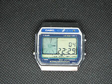 CASIO Vintage Digital Watch AX-210 118 MELODY ALARM LCD 1983 RETRO