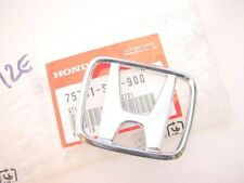 New Genuine 12 13 Honda Civic COUPE 2D SI EX LX Front H Chrome Emblem Grille