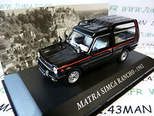 Car 1/43 IXO altaya Cars vintage : Matra Simca Rancho 1982