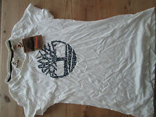 Timberland white tee shirt. Small. New