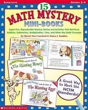 15 Math Mystery Mini-Books : Super-Fun, Reproducable Mystery Stories and...