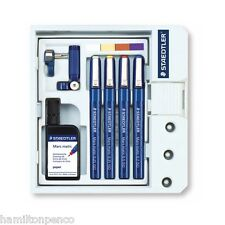 STAEDTLER MARS-MATIC 700 S4M TECHNICAL DRAWING PEN SET