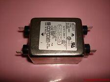 Corcom 6VW1 Power EMI Filter - 6A 120/250V - 50/60Hz - F7255 Snap On - Free Ship