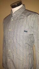 Faconnable Gray Long Sleeve Striped Shirt, Extra Large, Perfect Condition!