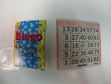 Bingo playing cards with 1000 paper bingo cards