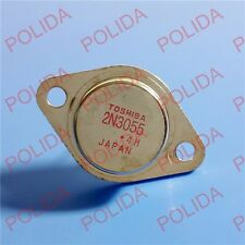 1PCS TRANSISTOR TOSHIBA TO-3 2N3055 100% Genuine and New