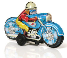 Vintage Antique Race Motorcycle Bike Tinplate Litho Toy Japan 1960's
