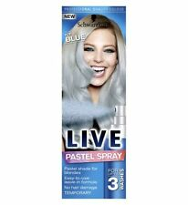 Schwarzkopf Live Temporary Pastel SPRAY for Blondes Icy BLUE 125ml