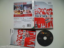 NINTENDO WII PAL GAME DISNEY SING IT HIGH SCHOOL MUSICAL 3 TESTED