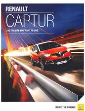 2014 Renault Captur 24-page UK ENG Jan14 Car Sales Brochure Catalog