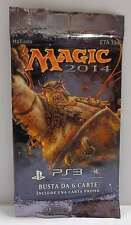 MTG Booster Bustina Magic the Gathering Playstation 3 PS3 2014 ITALIANO - PROMO