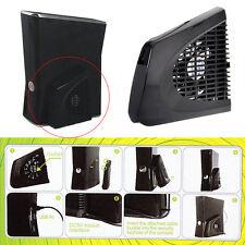 New USB UP Cooling Fan External Side Cooler designed for Xbox 360 Slim Black