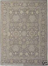 Restoration Hardware Tana Grey Persian Hand Knotted Rug 9x12 Wool $5995 MSRP