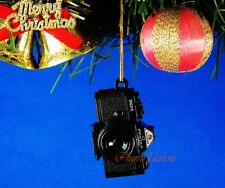 Decoration Ornament Xmas Tree Home Decor Pentax Camera MX Black *A539
