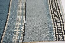 Pottery Barn Wentworth Lumbar Pillow Cover Blue Striped 16x26 Cover only