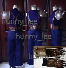 Dissidia Final Fantasy VII Cloud Strife Cosplay Costume + Prop Custom-Made