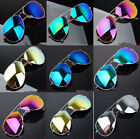 Unisex Women Men Vintage Retro Fashion Mirror Lens Sunglasses Glasses HH