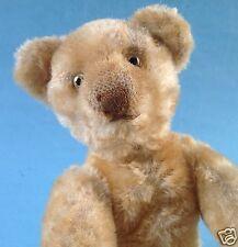 Original Teddy/Steiff/Bing/Crämer? Bär Mohair Nase braun Stofftier Teddybär~1930