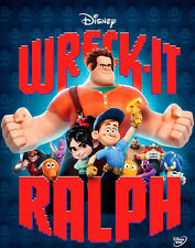 Wreck-It Ralph - Disney | BRAND NEW SEALED DVD - Animated Feature Film
