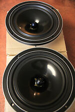 "NOS 1pair Polydax 8"" Bextrene woofers pn MTX20X25TDSN 5.8 ohm replacement driver"
