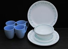 Corning Corelle Country Cottage 16 Piece Dinnerware Plates Bowls Cups Mint!