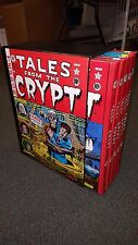 EC Tales From the Crypt Complete 5 Volume HC Box Slipcase Set Russ Cochran 1979