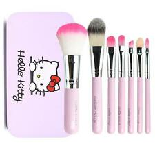 Cute For Hello Kitty Mini Profession​al Makeup Cosmetic Brush Set 7 pcs Kit