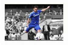 FRANK LAMPARD - CHELSEA AUTOGRAPHED SIGNED A4 PP POSTER PHOTO
